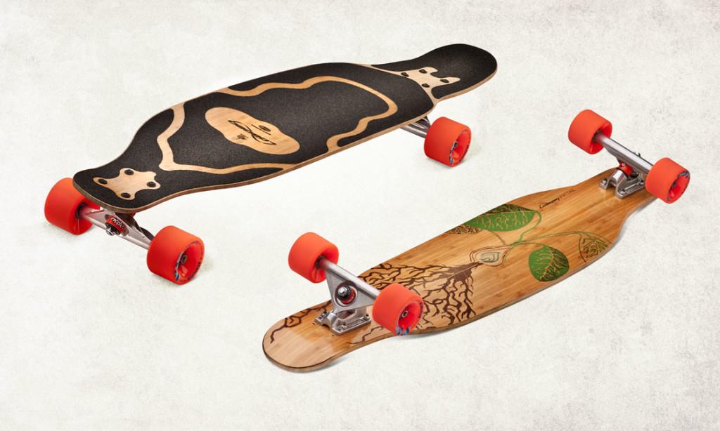 LOADED Fattail longskateboard