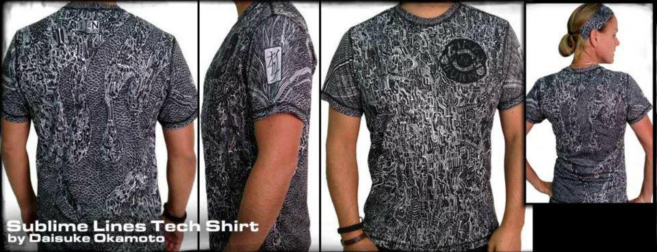 "INK N BURN ""Subline Tech T-Shirts"