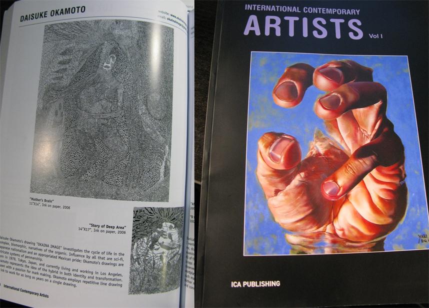 International Contemporary Artist vol. 1